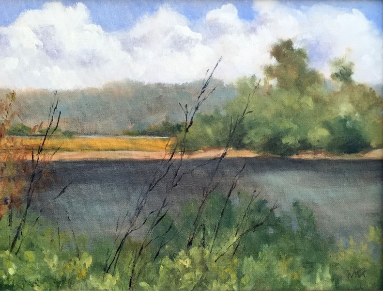Plein air painting at the Wild Bird Sanctuary